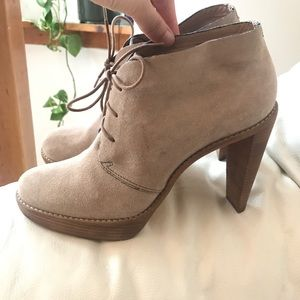 Cole Haan Shoes - Cole Haan Nike Air Stephanie Lace Up Boots 9.5